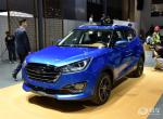 小型SUV市场黑马 众泰T300最新内饰谍照曝光