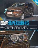 图解北汽幻速H5 定位高于H3F的紧凑型MPV
