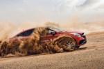 2017奔驰沙漠越野体验 开着豪车冲沙丘