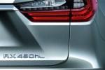 雷克萨斯发布长轴距版RX预告图 或于洛杉矶车展发布