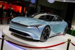 实拍绿驰URANO天王星 自主纯电动概念轿跑