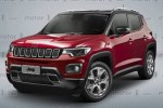 Jeep全新小型SUV假想图曝光 延续家族造型/搭载0.9T发动机