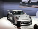 2018北京车展:保时捷新款911 GT3 RS亮相 升级版赛道利器