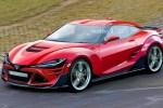 丰田全新86假想图曝光 或采用2.4T发动机/2020年亮相