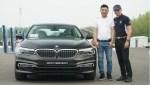 亦环保亦激情 旭子与董威君体验全新BMW 5系插电式混合动力