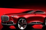 梅赛德斯-迈巴赫跨界SUV渲染图 采用三门设计/外观激进运动