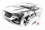 MG X-motion Concept 概念车量产版命名为-名爵HS