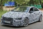 奔驰全新AMG CLA 45谍照曝光 车身性能化/运动化元素更为明显