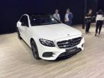 2018成都车展:奔驰进口E级上市 售价45.38-51.68万元