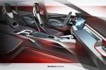 斯柯达Vision RS内饰设计图 设计科幻运动/或采用四座布局