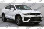 吉利全新SUV申报图曝光 轿跑风格设计/搭1.5T发动机