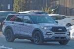 福特全新探险者2019年1月9日首发亮相 同步推ST版车型