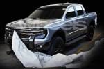 福特换代Ranger皮卡假想图曝光 与大众Amarok同平台