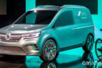 最美电动面包车 雷诺KANGOO ZE概念车亮相