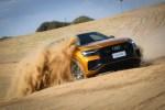 它确实是一台运动SUV 但今还就用它豁沙子了 奥迪Q8沙漠体验