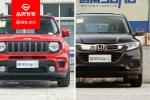 终端售价仅差7千元/动力差距明显 Jeep自由侠对比本田缤智