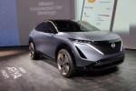 有望进入中国市场 日产Ariya纯电动跨界概念车亮相CES展