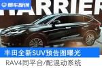 丰田全新SUV预告图曝光 RAV4同平台/配混动系统