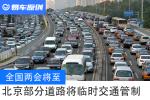 北京采取临时交通管制  市中心部分路段禁止外地车通行