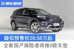 疑似预售价28.58万起 全新国产探险者将推9款车型