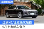 长城炮越野版/红旗H9/比亚迪汉领衔 6月上市新车展望