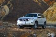 新款丰田普拉多造型曝光 10月国内发布