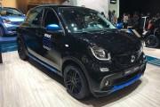 2018日内瓦车展:smart EQ forfour nightsky特别版正式亮相