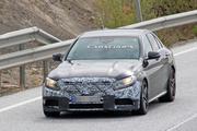 奔驰新款AMG C63谍照曝光 将亮相2019纽约车展