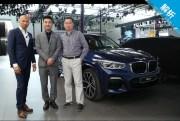 在中国,为中国 三大咖展台体验全新宝马X3