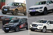 4款热门家用SUV空间对比:本田冠道