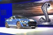 福特Mustang Shelby GT500实车图曝光 或2019年纽约车展亮相