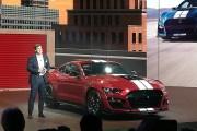 2019北美车展:福特Mustang Shelby GT500亮相 搭5.2L机增V8