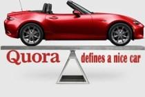 看美国知乎Quora如何定义一辆好车