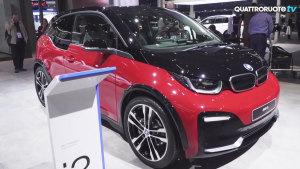 2017法兰克福车展 新款BMW i3s发布
