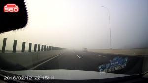 大自然太神奇,一瞬间晨雾不见了!