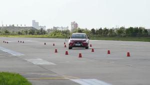 逸动超级评测高速躲避障碍物测试