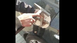 给车补个漆师傅说要用半个月!车主看维修进度惊呆了