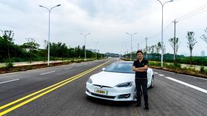 依然是新能源时代标杆 试驾特斯拉Model S 100D
