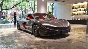 中国首款纯电动城市跑车 前途k50上市 68.68万