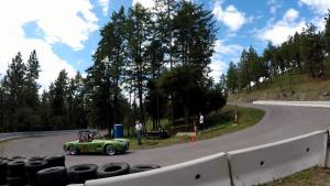 纯电Cobra参加登山赛  车内视角