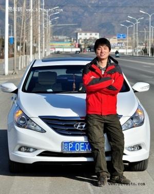 专访车主刘振瑞:第八代索纳塔为奋斗助力