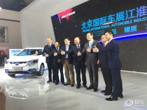 两款新品上市 江淮全部阵容亮相北京车展