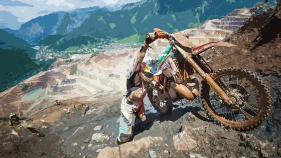 大锰矿山耐力赛 挑战亚洲最险赛道