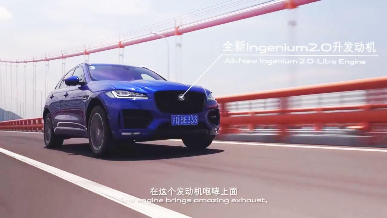 新一代捷豹F-PACE 九龙山激情试驾
