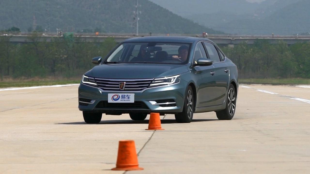 2017款荣威i6紧凑级轿车 18米绕桩测试