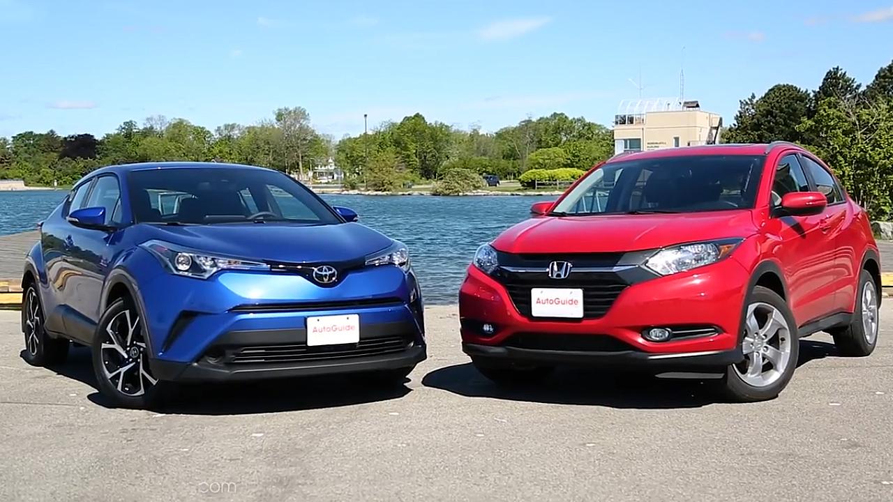 小型SUV之争 本田HR-V对比丰田C-HR