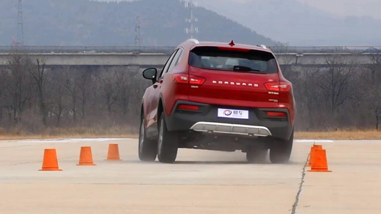 2017款宝沃BX5 110米紧急变线测试