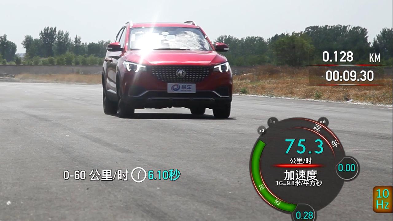 2017款名爵ZS 400米直线加速实测