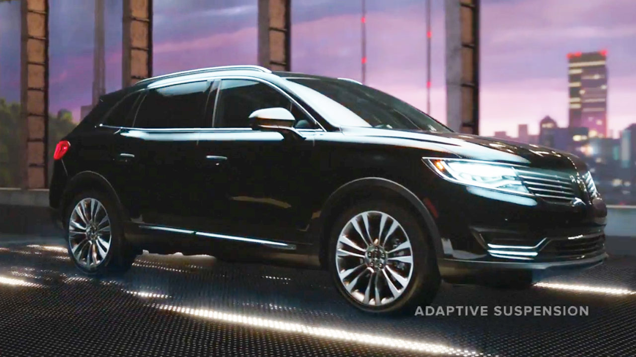 林肯MKX 豪华美式SUV智能刹车系统
