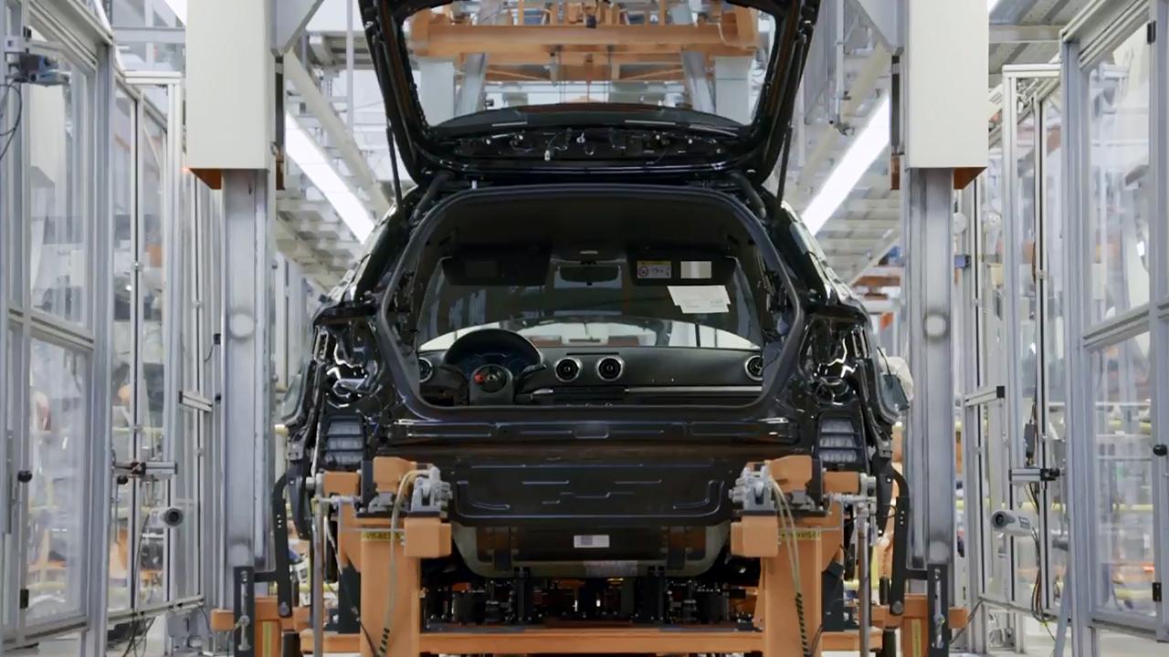 奥迪A3 Sportback g-tron 生产过程实拍